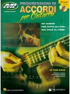 Tom Kolb Progressione di accordi per chitarra (libro/CD)