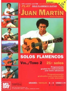 Play Solo Flamenco Guitar 2 (book/CD + DVD)