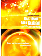 Brazilian & Afro Cuban Jazz Conception Tenor & Soprano Sax (book/CD)