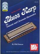 Blues Harp for Diatonic & Chromatic Harmonica (book/CD/DVD)