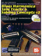 Blues Harmonica Jam Tracks & Soloing Concepts 2 (book/CD)