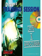 Latin & Afro-Cubain: Drum Training Session (book/CD play-along)