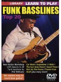 Lick Library: Learn To Play Funk Basslines - Top 20