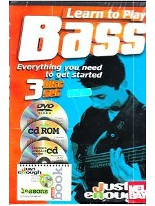 Learn to Play Bass (DVD/CD-Rom/CD/booklet)