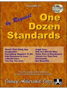 One Dozen Standards (book/2 CD play-along)