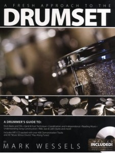 A Fresh Approach to Drumset (book/CD/CD Rom )