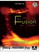 Aebersold 109: Fusion, Rock, Jazz, Funk, Latin, smooth (book/CD)