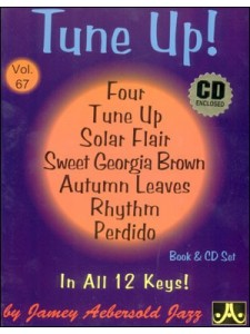 Aebersold 67: Tune Ups (book/CD)