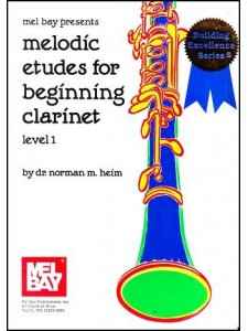 Melodic Etudes For Beginning Clarinet
