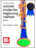 Melodic Etudes For Beginning Clarinet