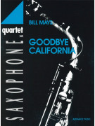Goodbye California-sax quartet SATB