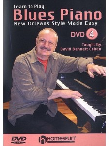 Learn to Play Blues Piano 4: New Orleans Style (DVD)