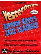 Yesterdays Jerome Kern's Jazz Classics (book/CD)