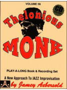Aebersold 56: Thelonious Monk (book/CD play-along)