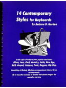 14 Contemporary Styles For Keyboards (book/CD)