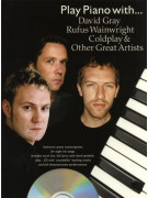 Play Piano With... David Gray, Rufus Wainwright (book/CD)
