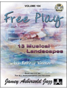 Aebersold 104: Kenny Werner - Free Play (bookCD)