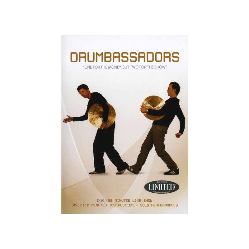 Drumbassadors drum duo drum duets duetti batteria - One for the money two for the show ...