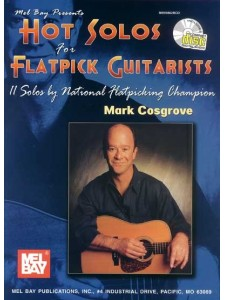 Hot Solos For Flatpick Guitar (book/CD)