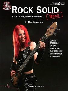 Camp Jam: Rock Solid: Bass (book/CD MP3)