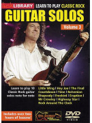 Lick Library: Learn To Play Classic Rock Guitar Solos Volume 3 (DVD)