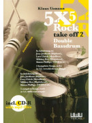 5 X 5 Rock Take Off 2 (book/CD play-along)