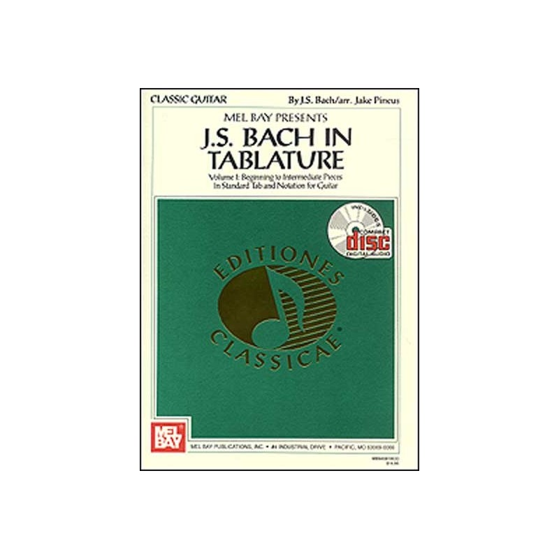 J. S. Bach in Tablature, songs j.s. bach, music j.s. bach
