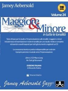 Aebersold Vol. 24: Maggiore & Minore (book/2CD)