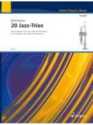 20 Jazz Trios for Trumpet