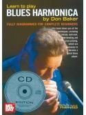 Learn to Play Blues Harmonica (book/CD)
