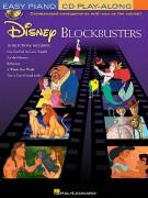 Easy Piano Play-Along Volume 11: Disney Blockbusters (book/CD)