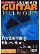 Lick Library: Guitar Techniques: Fretburning Blues Runs (DVD)