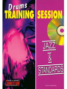 Jazz & Standards: Drums Training Session (booklet/CD play-along)