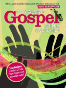 Play-Along Gospel With A Live Band! - Saxophone (book/CD)