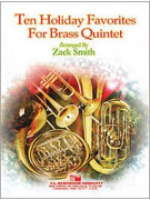 Ten Holiday Favorites for Brass Quintet (book/CD)