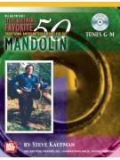 Steve Kaufman's Favorite 50 Mandolin (Tunes G-M Book/CD)