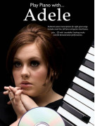 Play Piano With... Adele (book/CD)