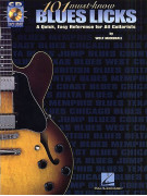 101 Must-Know Blues Licks (book/CD)
