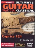 Lick Library: Ultimate Guitar Techniques Shredding Classical - Caprice No.24 (DVD)