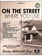 Aebersold 132: On The Street Where You Live (book/CD)