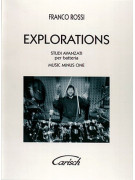 Franco Rossi - Explorations (libro/CD)