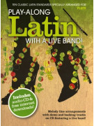 Play-Along Latin With A Live Band for Flute (book/CD)