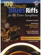 100 Ultimate Blues Riffs For Tenor Saxophone - Beginner Series (book/CD)
