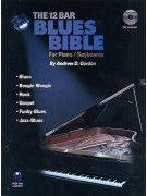 The 12 Bar Blues Bible For Piano/Keyboards (book/CD)