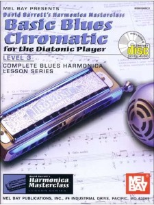 Basic Blues Chromatic for the Diatonic Player, Level 3 (book/CD)