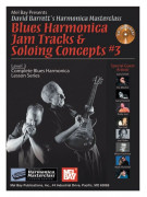 Blues Harmonica Jam Tracks & Soloing Concepts 3 (book/CD)