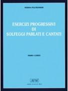Esercizi progressivi di solfeggi parlati e cantati - 1° corso (libro/4 CD