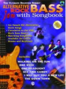 Alternative Rock Bass Jam with Songbook (book/CD)