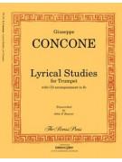 Lyrical Studies for Trumpet (book/CD)