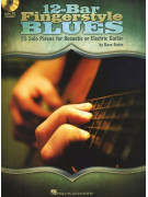 12-Bar Fingerstyle Blues (book/CD)